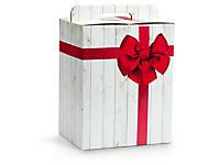 Boîte cadeau impression noeud