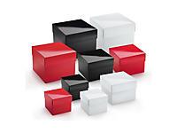 Boîte cadeau pelliculée avec couvercle séparé