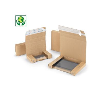 Boîte avec calage film pour smartphone ou tablette##Postdoos met fixeerfolie voor smartphone of tablet