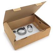 Boîte avec calage film