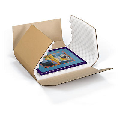 Boîte avec calage mousse grand format Raja##Extra grote doos met antischokvulling Raja