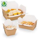 Boîte carton alimentaire à fermeture croisillon
