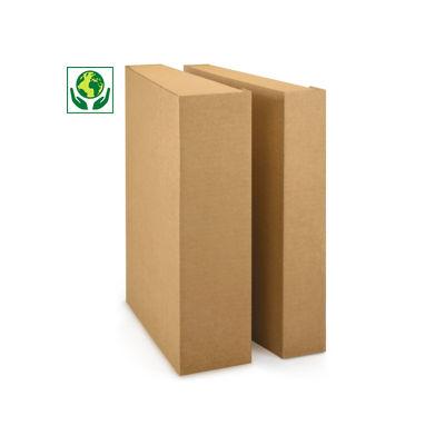 Boîte pour classeur avec fermeture par languette##Ordnerdoos met klepsluiting