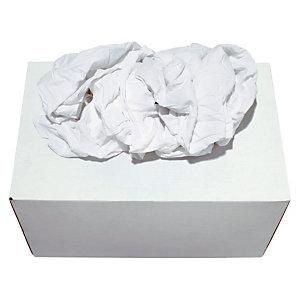 Boîte distributrice Chiffons blancs optique - Boîte de 10 kg