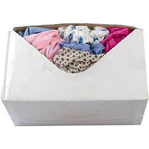 Boîte distributrice Chiffons couleur - Boîte de 10 kg