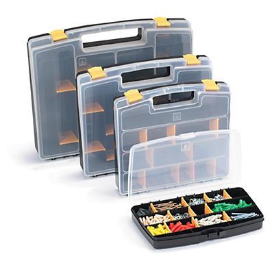 Boîte et mallette à compartiments amovibles