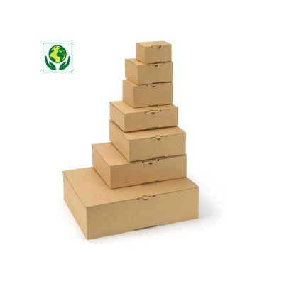 Boîte montage instantané##Postdoos met automatische bodem en bovenklep