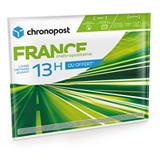 Boîte et pochette postale France et UE CHRONOPOST