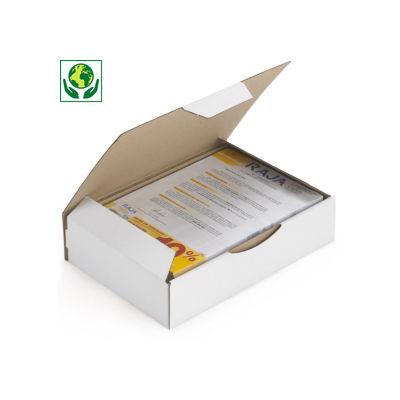 Boîte postale A4 Rajapost##A4 postdoos met beschermende zijflappen en sluitklep Rajapost