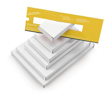 Boîte postale pour boîte aux lettres (attention: tarif paquet)##Kartons für Briefkästen (Achtung: Gilt bereits als Paketpost)