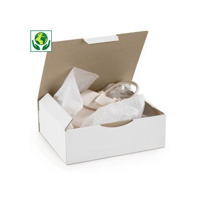 Boîte postale en carton blanche Rajapost##Witte postdoos Rajapost
