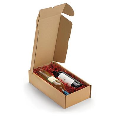 Boite postale carton pour bouteilles RIGIBOX