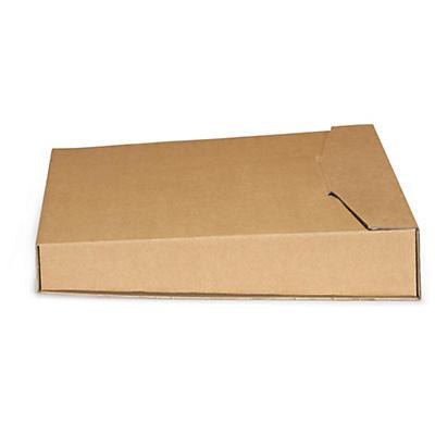 Boîte postale en carton pour classeur avec fermeture par languette