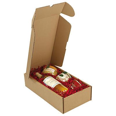 Boîte postale carton Rigibox pour bouteilles