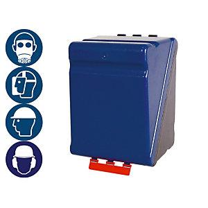 Boite de rangement des EPI, format Maxi, coloris bleu