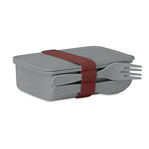 Boîte à repas Lunch box - coloris gris