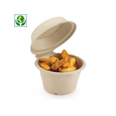 Boîte snacking en canne à sucre