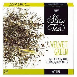 Boîte de Thé, Slow Tea Velvet Green 25 sachets.