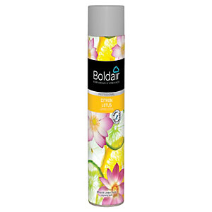Boldair Désodorisant parfumant Citron lotus - 750 ml