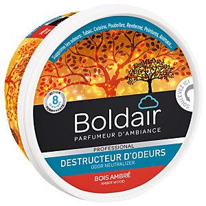 Boldair gel destructeur d'odeurs Bois Ambré 300 g