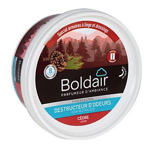 Boldair gel destructeur d'odeurs Cèdre anti-mites 300 g