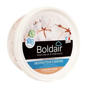Boldair gel destructeur d'odeurs Fleur de coton 300 g