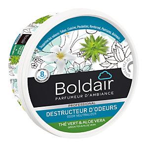 Boldair gel destructeur d'odeurs Thé vert et Aloé Vera 300 g