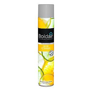 Boldair Désodorisant parfumant Zeste citronné - Aérosol de 500 ml
