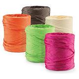 Bolduc couleur effet raphia pour emballage cadeau