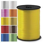 Bolduc couleur effet satiné pour emballage cadeau