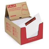 Bolsa adhesiva portadocumentos con mensaje impreso RAJA®