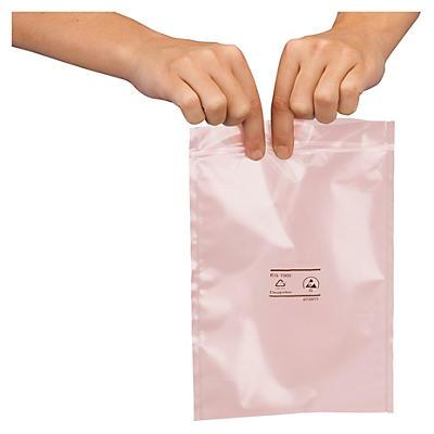 Bolsa antiestática con cierre zip