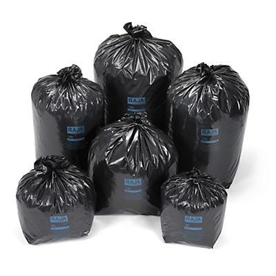 Bolsa de basura 100% reciclada resistente RAJA®