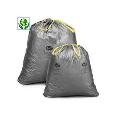 Bolsa de basura con asas NF