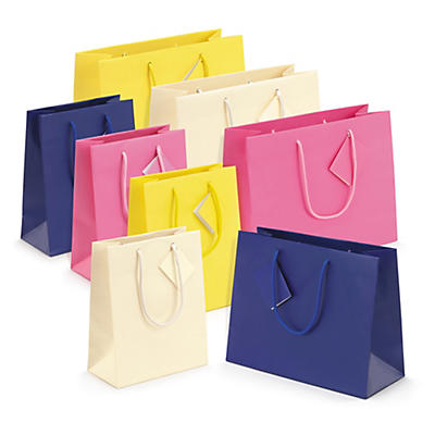 Bolsa de papel charol mate Luxury Line