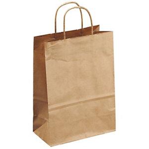Bolsa de papel con asas 28 x 36 com (ancho x alto)