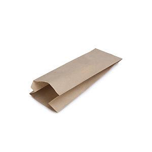 Bolsa de papel kraft para pan (1 barra)