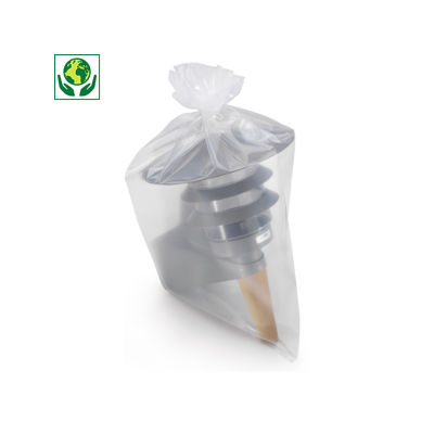 Bolsa de plástico 150 micras 100% reciclada RAJA®