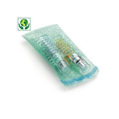 Bolsa de plástico de burbujas 100% reciclado Ø 10 mm con cierre adhesivo RAJA®