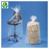 Bolsa de plástico con fuelles 100 micras/Galga 400 100% reciclable RAJA®