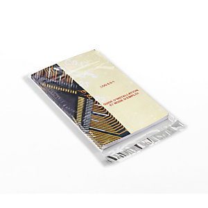 Bolsa de polipropileno alto brillo con cierre adhesivo 8 x 12 cm 1000 unid