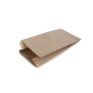 Bolsa sin asa papel kraft, 18 x 34 cm