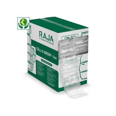 Bolsas de aire ecológicas Green en caja distribuidora