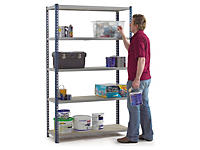 Boltless general use shelving