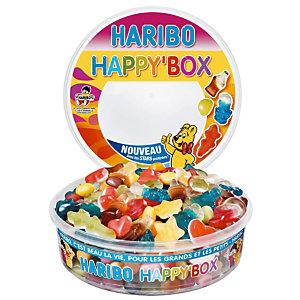 Bonbons Haribo Happy box, boîte de 600 g