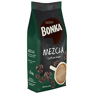 BONKA HOSTELERÍA Café en grano Mezcla 20% torrefacto 1 kg