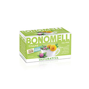 BONOMELLI Tisana Depurativa, 16 filtri