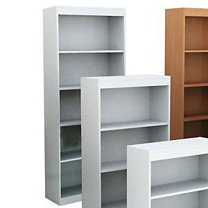 Book Libreria componibile Alta 5 Ripiani, dimensioni 76 x 29 x 186 cm, colore Bianco