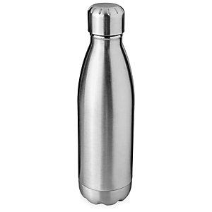 Borraccia termica sottovuoto personalizzabile Arsenal, Acciaio inox, Capacità 510 ml, Argento