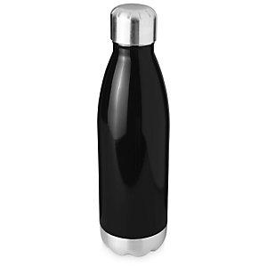 Borraccia termica sottovuoto personalizzabile Arsenal, Acciaio inox, Capacità 510 ml, Nero